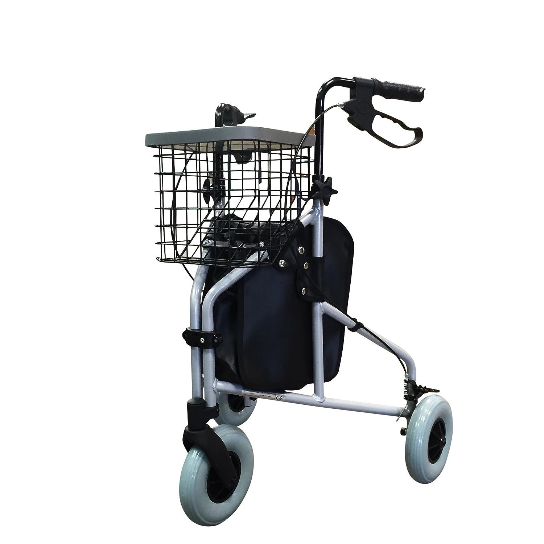 Z-Tec - Andador triciclo en color plata: Amazon.es: Salud y ...