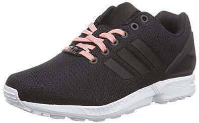 adidas Zx Flux, Femme Sneakers, Core Black/Core Black/Still Breeze,
