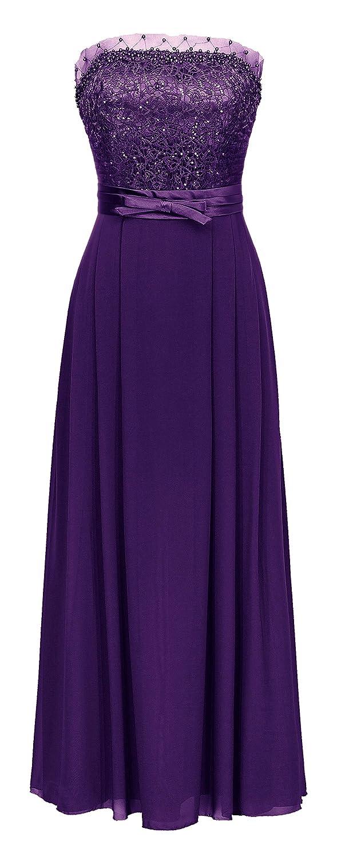 JuJu & Christine Women's Empire Dress red purple 28
