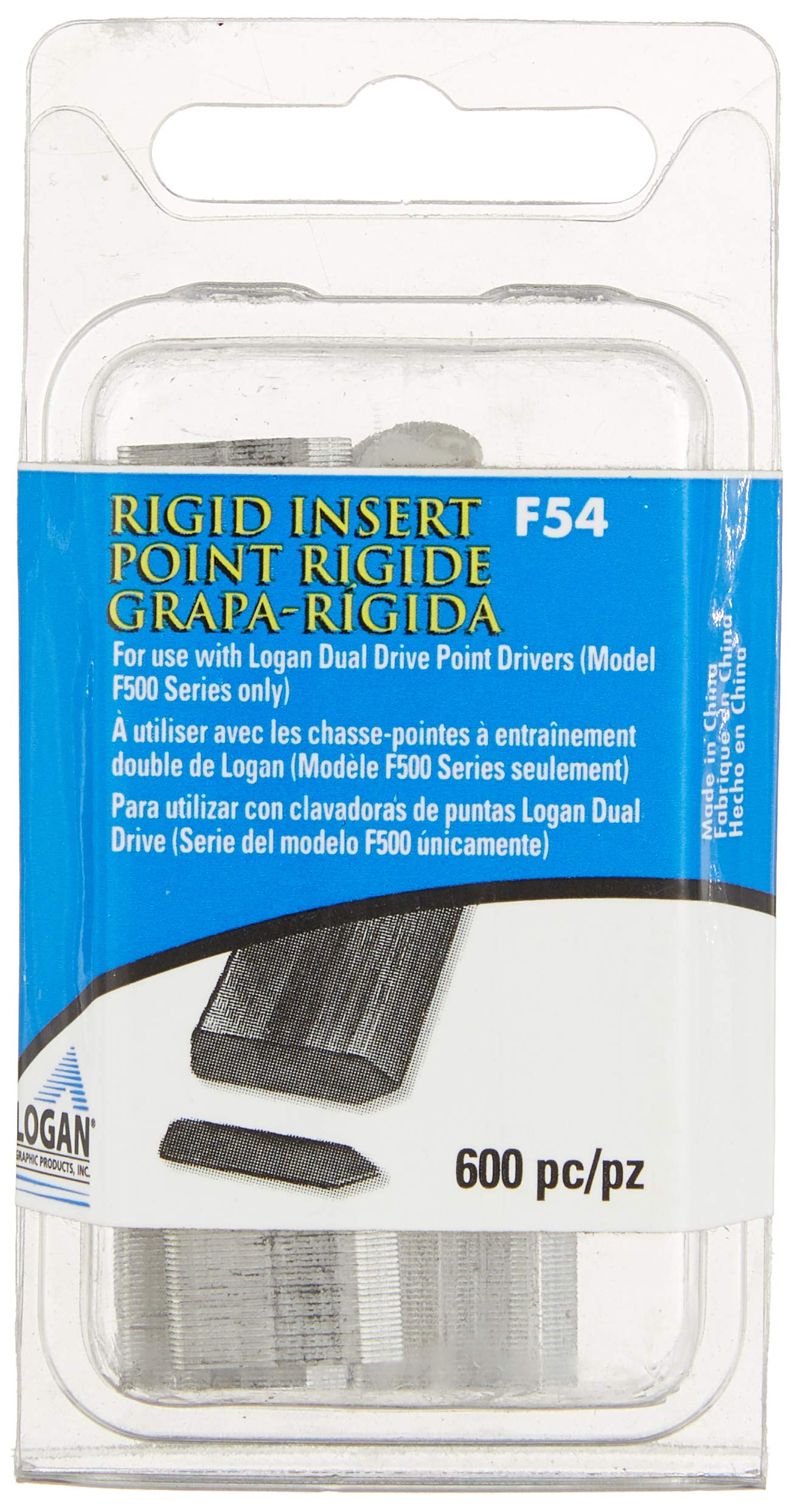 Logan F54 Rigid Points for F500 Dual Driver Pack of 600