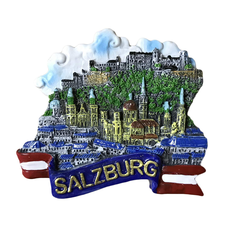 Wedare Salzbourg Autriche Aimant de réfrigérateur Souvenirs de Voyage Aimant de réfrigérateur de Cuisine Maison et décoration Collection