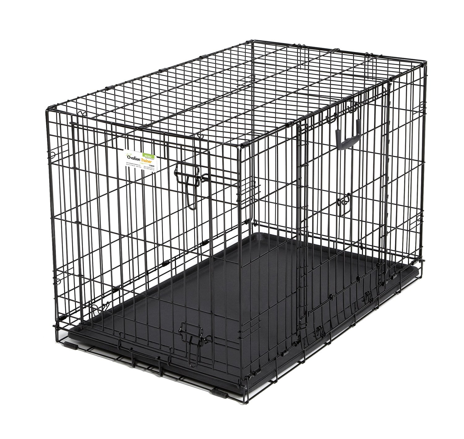 amazoncom  midwest homes for pets ovation double door dog crate  - amazoncom  midwest homes for pets ovation double door dog crate inch pet supplies