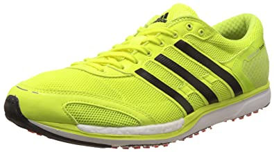 abe2beed841c Image Unavailable. Image not available for. Colour  Adidas Men s Adizero  Takumi Sen 3 Yellow and Black Sport Running Shoes - 5 UK