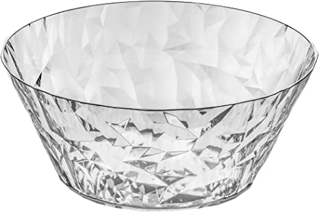 Koziol Crystal 2 0 S Small Salad Serving Bowl 0 7 L 23 Fl Oz Crystal Clear Kitchen Dining