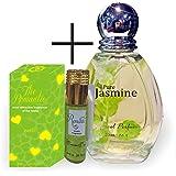 Parag Fragrances Natural Pure Jasmine Spray Perfume - 100Ml
