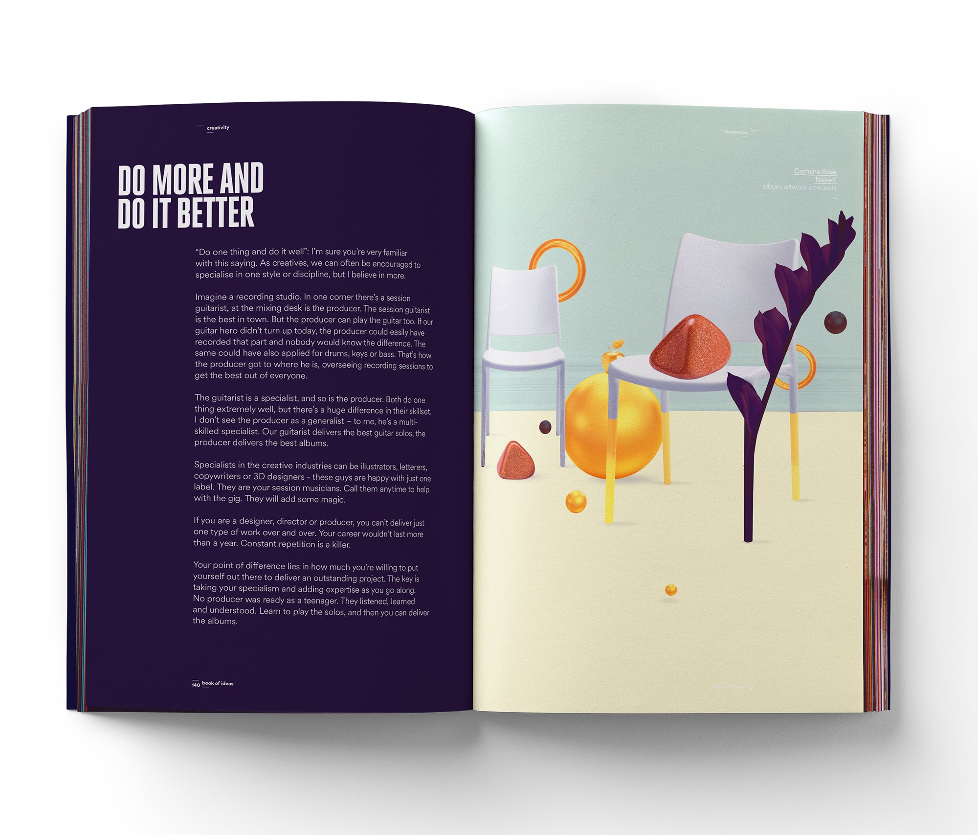 Book of Ideas: 1: A Journal of Creative Direction and Graphic ...