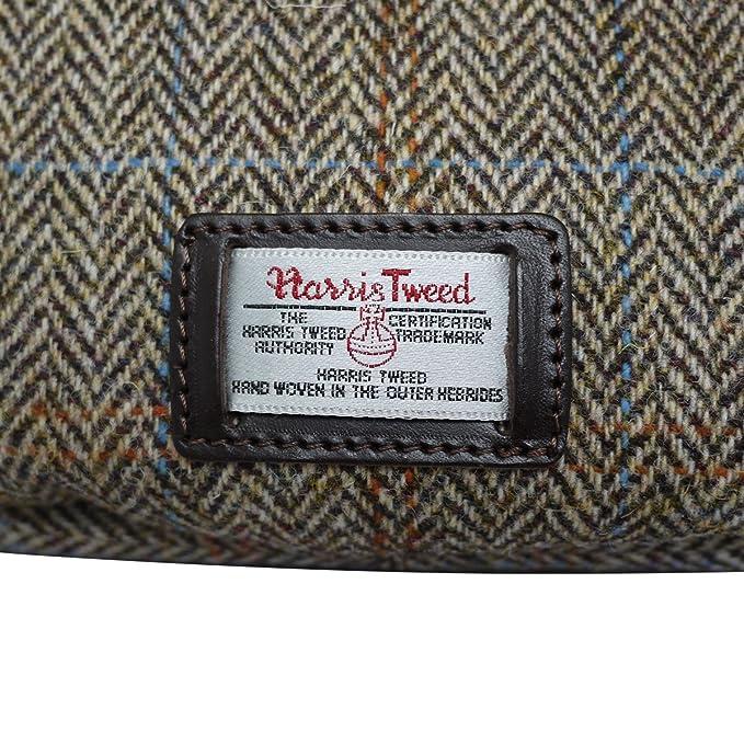 Bonfanti cuir italien et Harris Tweed sac hobo bandoulière - brun (brun clair) aKVc50