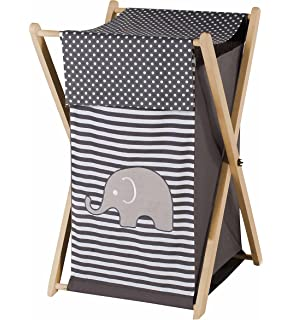Baby//Kids Clothes Laundry Hamper for Pink and Brown Mod Elephant Bedding by Sweet Jojo Designs B007TA4EMO