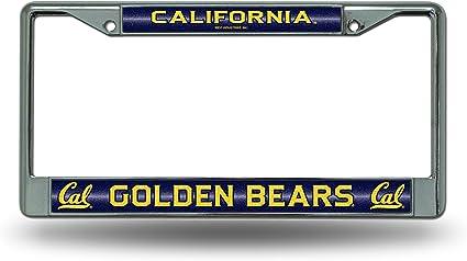 Ncaa Rico Industries Kennzeichenrahmen Mit Glitzer Akzent California Golden Bears Sport Freizeit