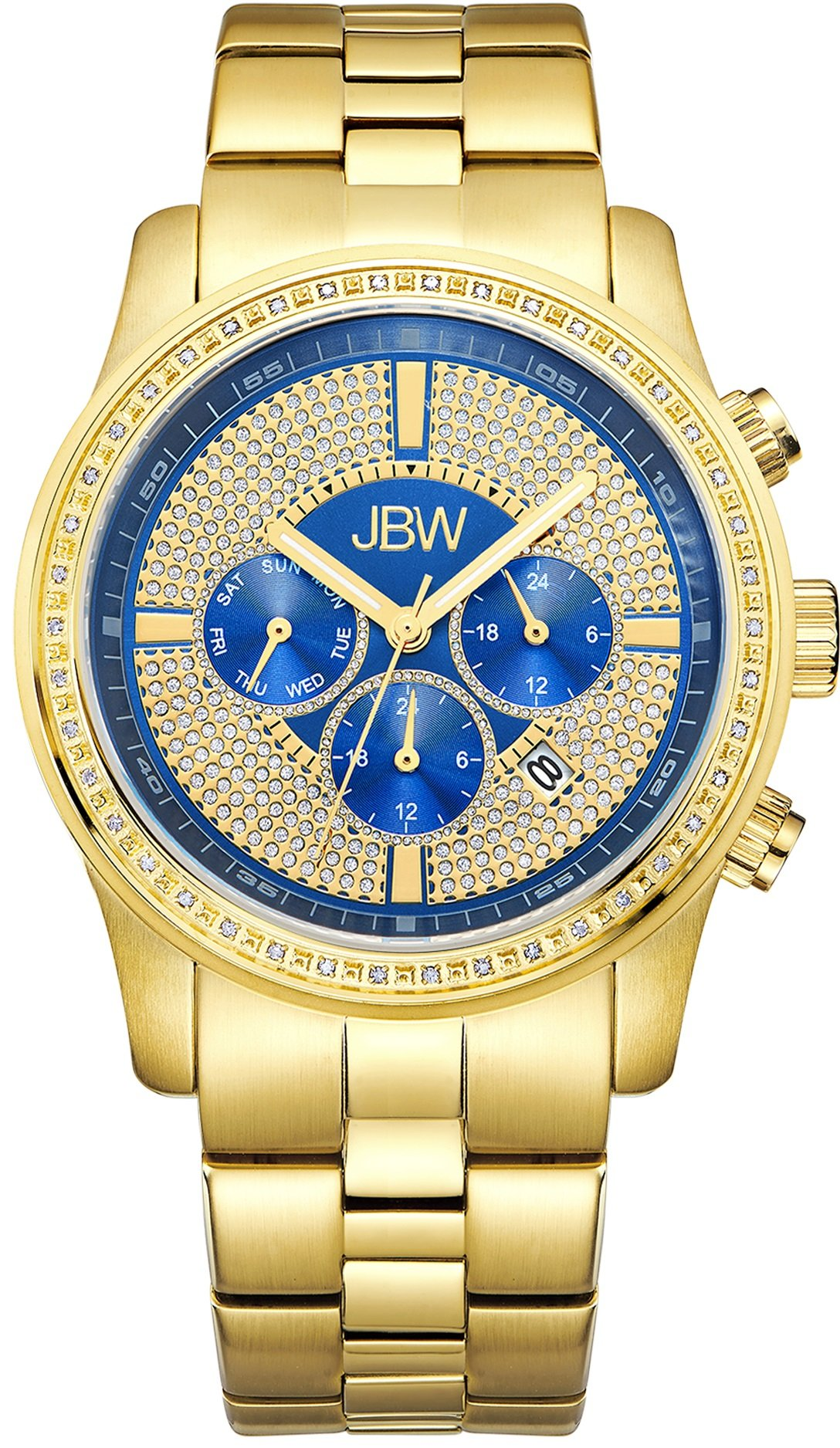 Jbw Men's Vanquish J6337E Chronograph Diamond Watch 6