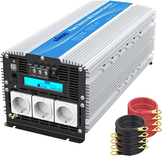 5000w Power Inverter Modifizierter Sinus Wechselrichter Elektronik