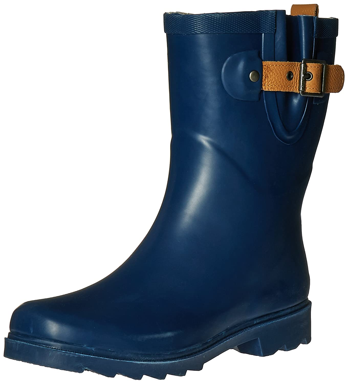 Chooka Women's Mid-Height Rain Boot B01BUE2MPU 7 B(M) US Deep Navy