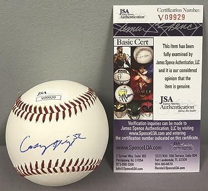 d19ebdbfcd1 Casey Mize SIGNED SEC Baseball w COA ~ Auburn Tigers 2018 MLB Draft ...