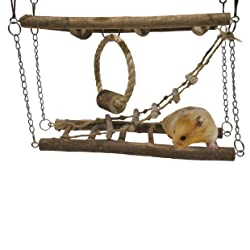 Activity Suspension Bridge From Rosewood Pet For Hamster Toy