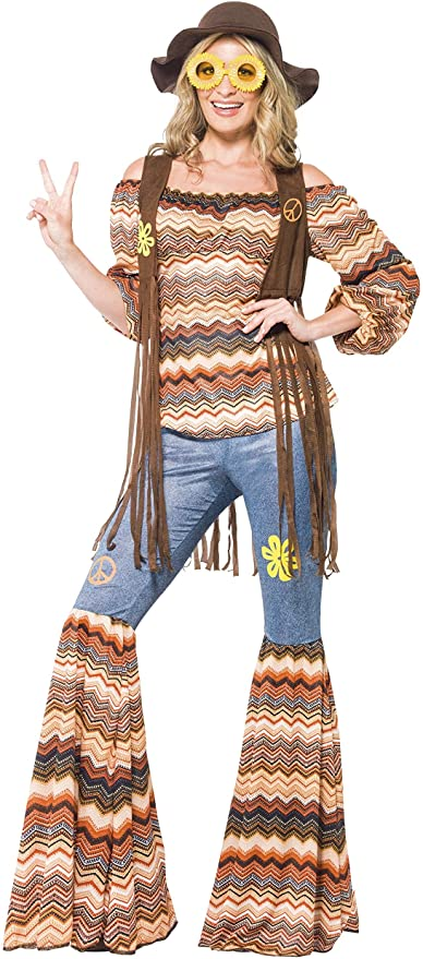 70s Clothes | Hippie Clothes & Outfits Smiffys Harmony Hippie Costume £18.20 AT vintagedancer.com