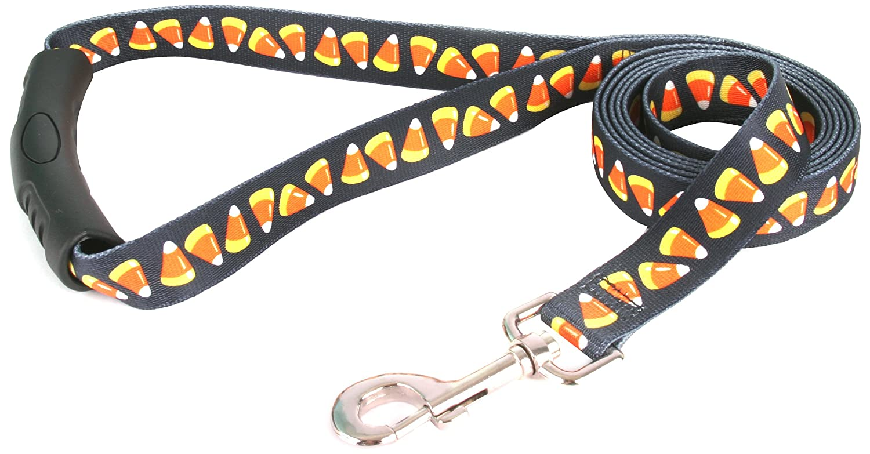 M Yellow Dog Design EZ-Grip Lead, 3 4-Inch by 60-Inch, Candy Corn