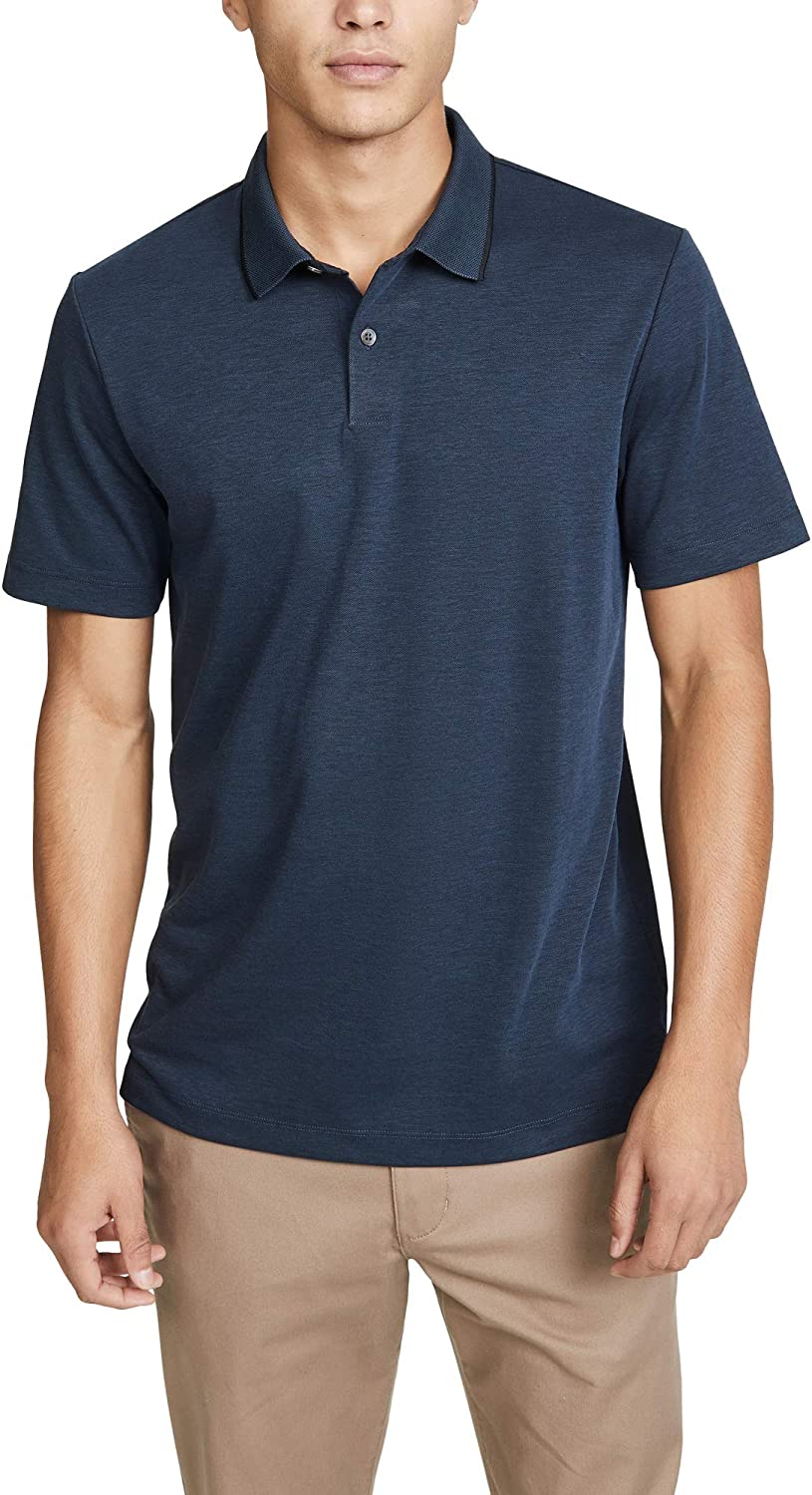 Theory Mens Standard Current Pique Polo