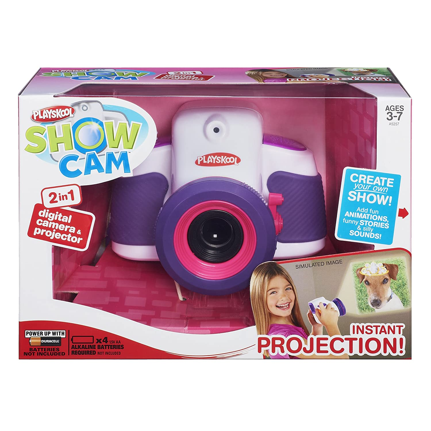 Amazon Playskool Showcam 2 in 1 Digital Camera and Projector