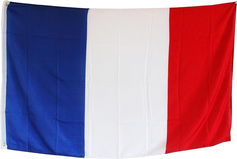 Creation Gross Fahne Flagge Frankreich 60 x 90 cm mit Metall/ösen zum Aufh/ängen 0140508