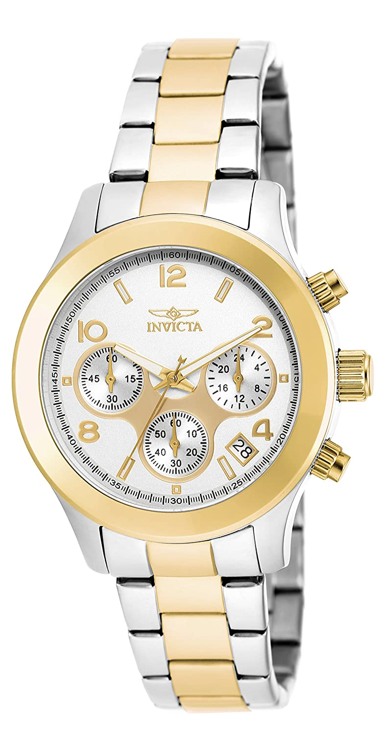 Invicta Women s 19219 Angel Analog Display Quartz 2 Tone Watch