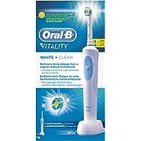 Oral-B Vitality, Cepillo De Dientes Eléctrico, White & Clean