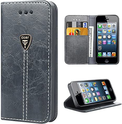 iPhone 5S Custodia iPhone 5 Cover iPhone SE Custodia Portafoglio