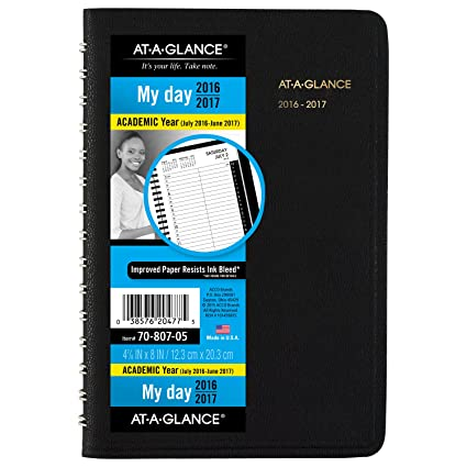 amazon com at a glance academic year daily appointment book