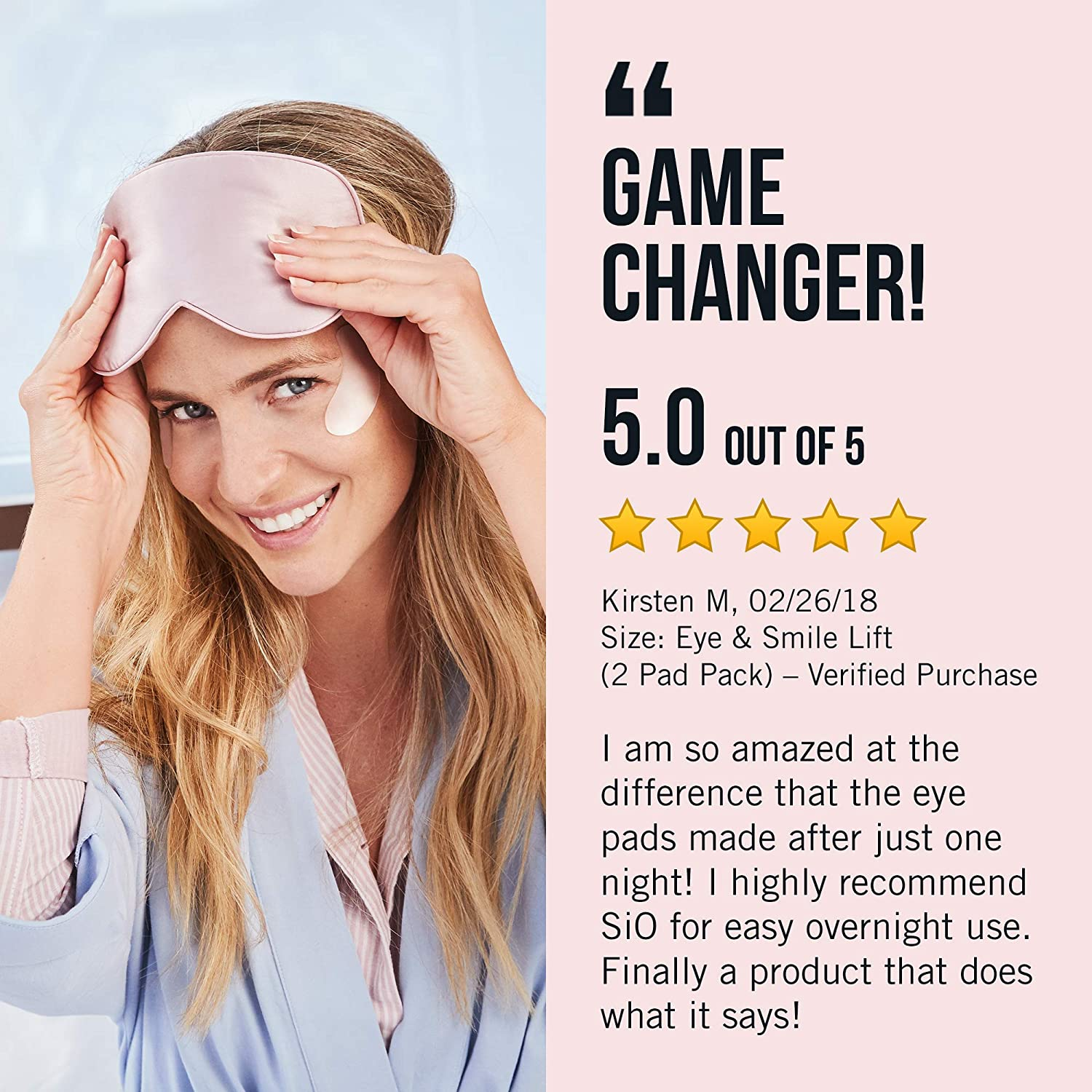 SiO FaceLift | Neck, Forehead, Eye & Smile Anti-Wrinkle Patches | Overnight  Smoothing Silicone Patches
