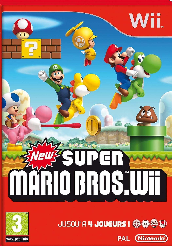 New Super Mario Bros Wii [Importación francesa]: Amazon.es: Videojuegos