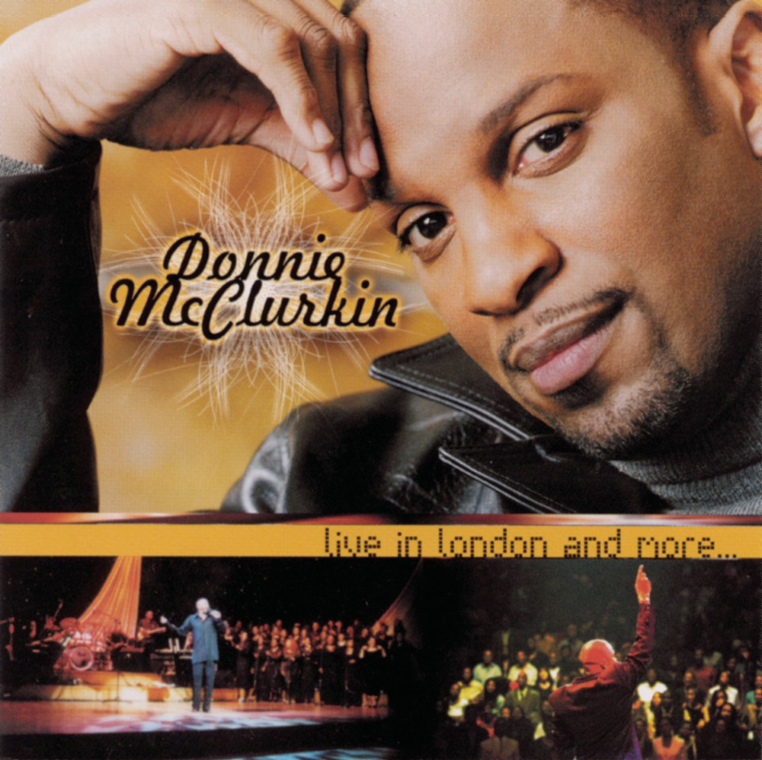Live in London and More .. by MCCLURKIN,DONNIE