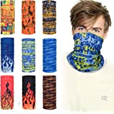 Bandana Face Mask Neck Gaiter Headband Scarf Headwrap Neck Warmer Face Scarf Mask For Workout