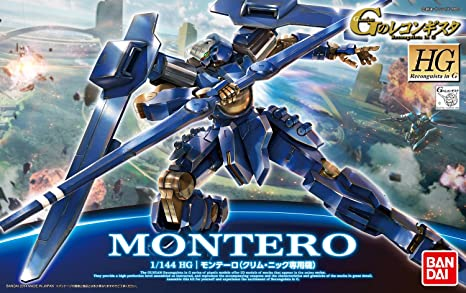 Bandai Hobby HG 1/144 #03 Montero Klim Nick Custom Reconguista in G Action Figure: Amazon.es: Juguetes y juegos