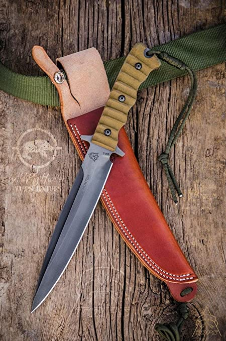 Amazon Com Tops Knives Wild Pig Hunter Sports Outdoors