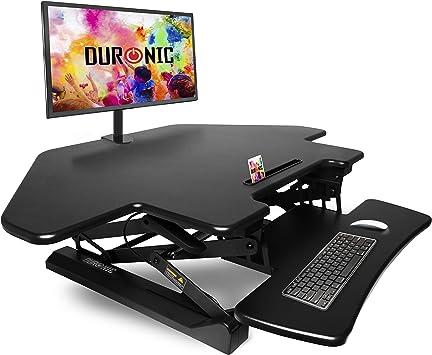 Duronic DM05D5 Estación de Trabajo para Monitor con Altura ...