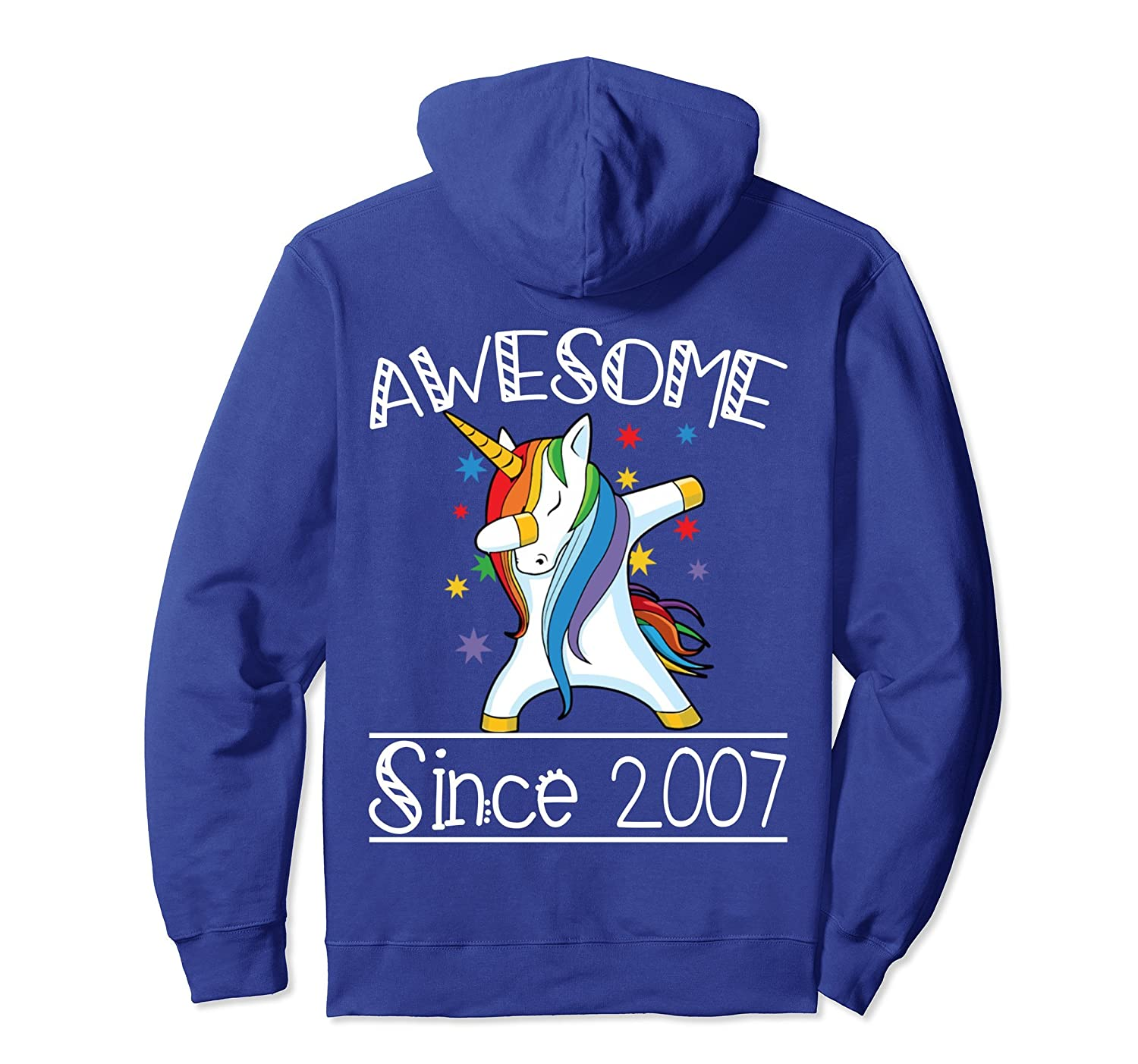 11th Birthday Gifts Vintage 07 Awesome Since 2007 Hoodie-ln