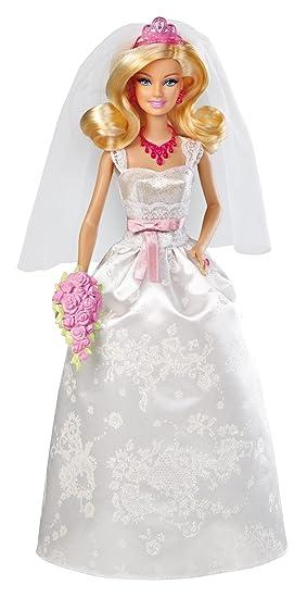 Barbie Novia, muñeca y accesorios (Mattel X9444)