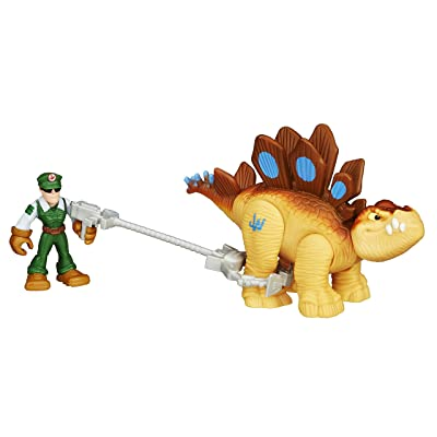 Playskool Heroes Jurassic World Tracker Stegosaurus Figure: Toys & Games