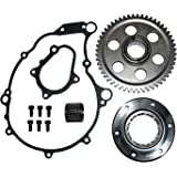 YAMAHA RAPTOR 660 HEAVY DUTY ONE WAY STARTER CLUTCH BEARING GEAR KIT SET 2001 2002 2003