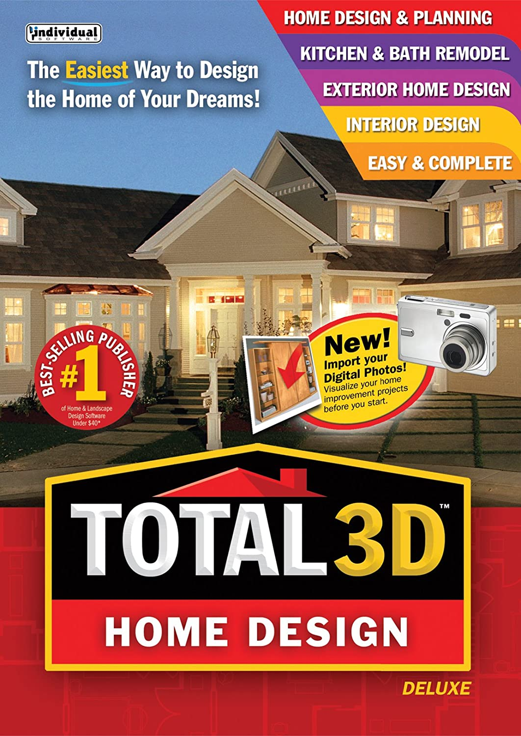 Amazon Com Total 3d Home Design Deluxe Download Software