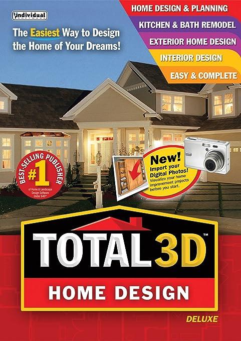 Amazon.Com: Total 3D Home Design Deluxe [Download]: Software