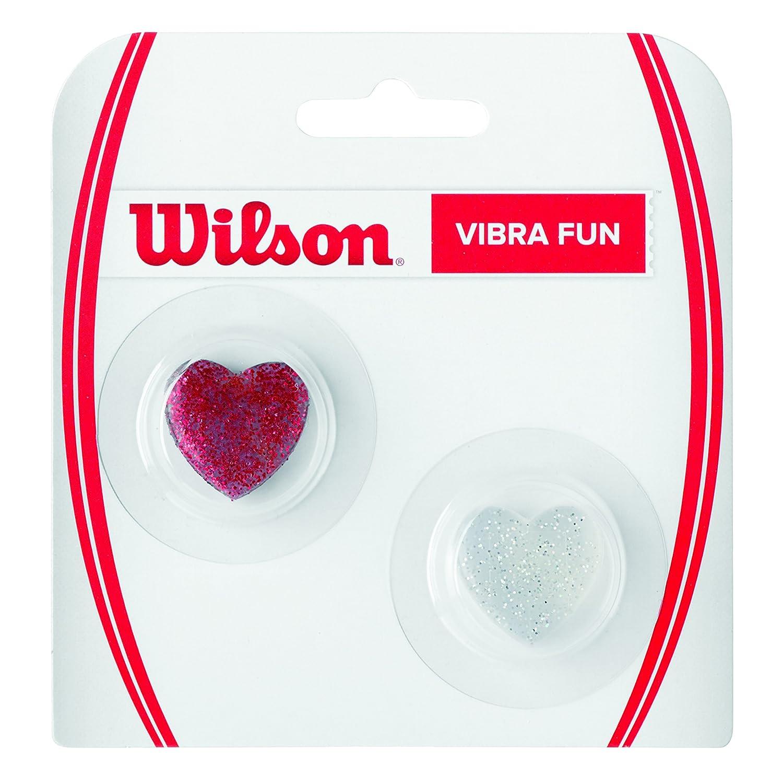 Wilson V Fun, Antivibrazione Yin-Yang e Pace per Racchetta Unisex – Adulto, Nero/Giallo, 2 Pezzi WRZ537200