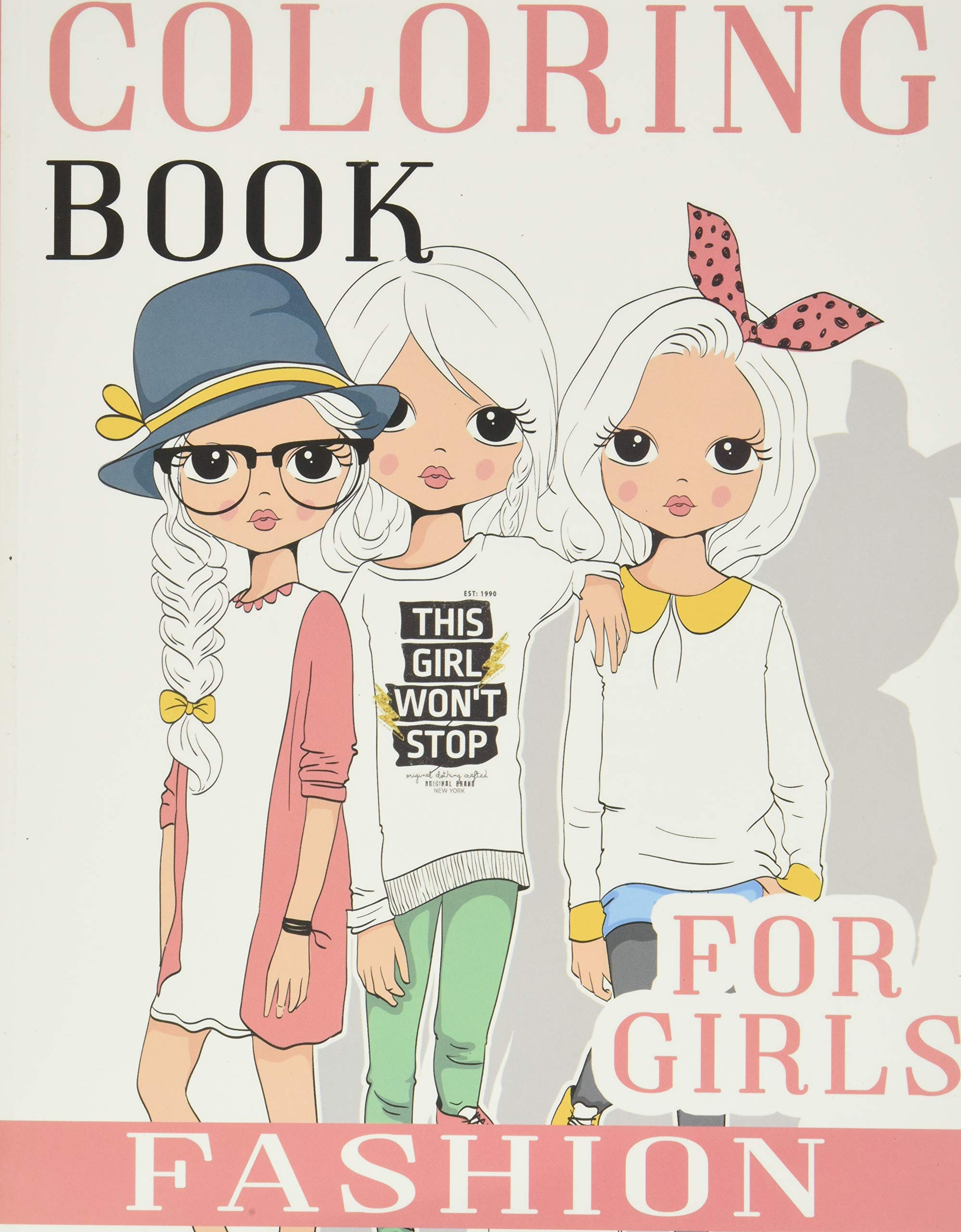 Fashion Coloring Book For Girls Over 300 Fun Coloring Pages For Girls And Kids With Gorgeous Beauty Fashion Style Other Cute Designs Publishing Love Rain 9781075375507 Amazon Com Books