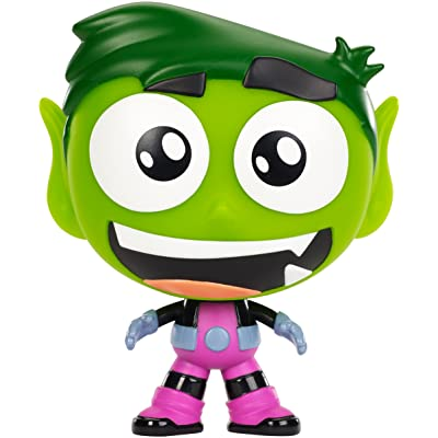 DC Comics Teen Titans Go! Super Tooters Beast Boy Figure: Toys & Games