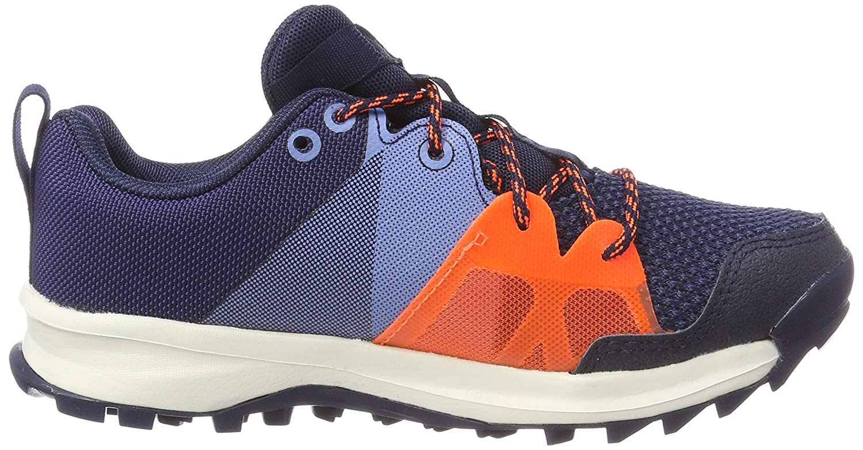 adidas Unisex Kids' Kanadia 8.1 Squash Shoes, Blue (Conavy