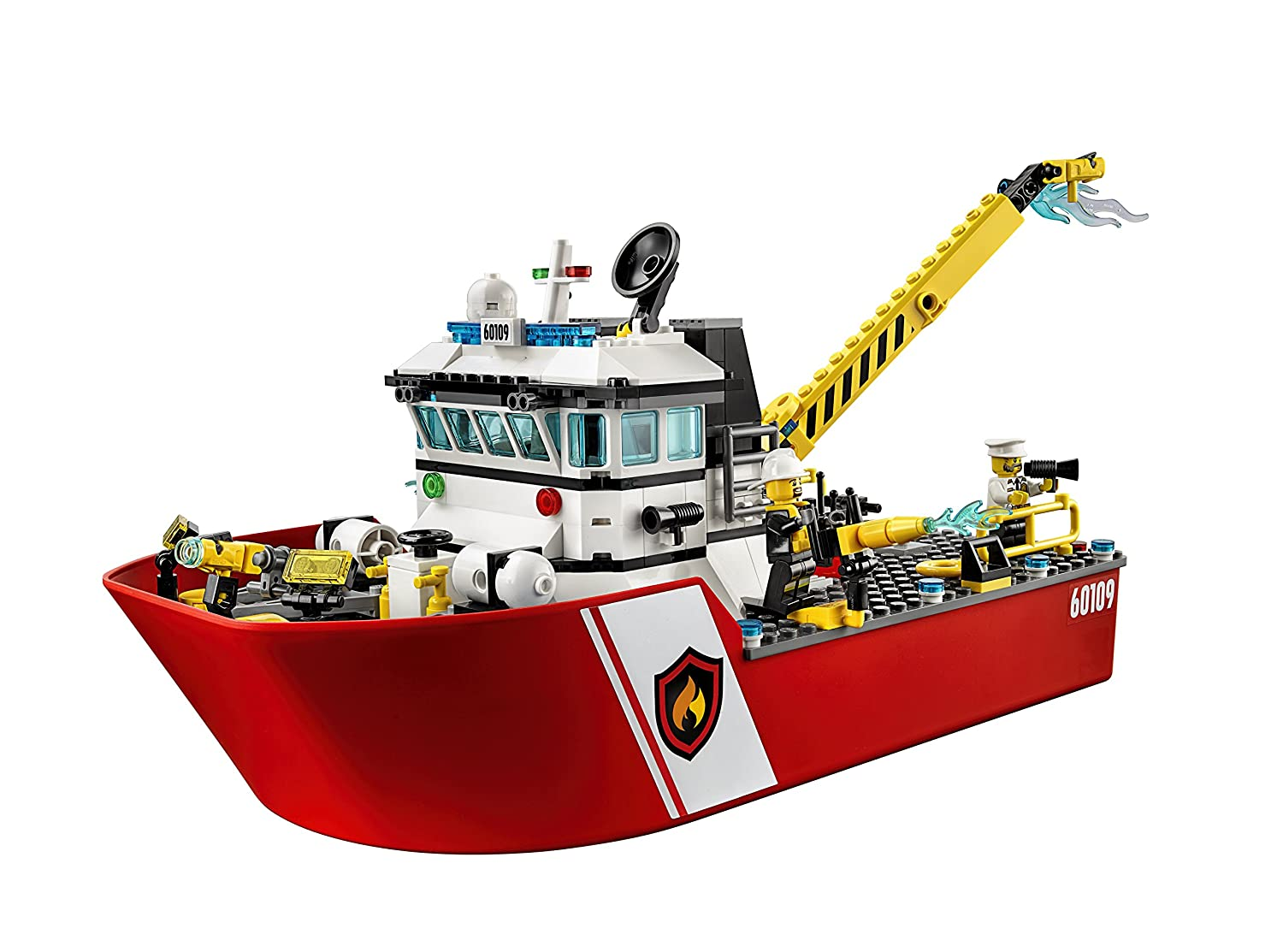 Lego City Fire Boat 60109 Amazon Toys Games