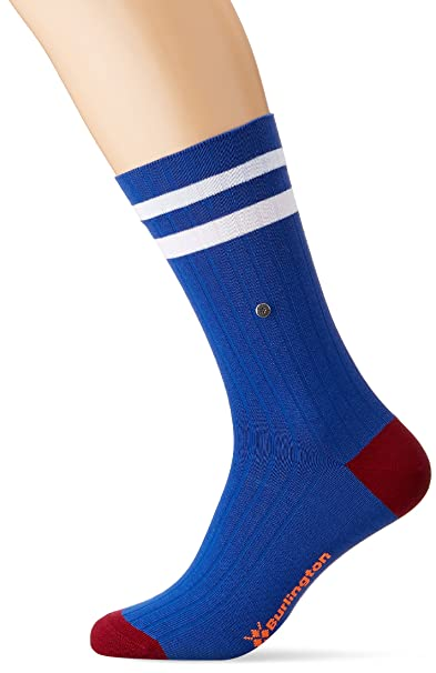 Burlington Tiger, Calcetines para Hombre, Azul (Deep Blue 6046), 40/46 (Talla del Fabricante: 40-46): Amazon.es: Ropa y accesorios