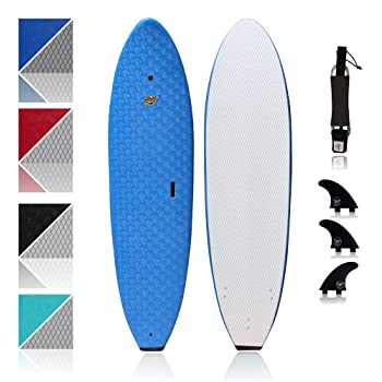 South Bay Board Co 7' Ruccus Soft Top Surfboard