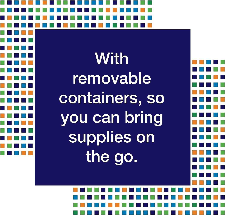 A Darice Elizabeth Ward Bead Storage Solutions 45-Piece Assorted Storage Tray