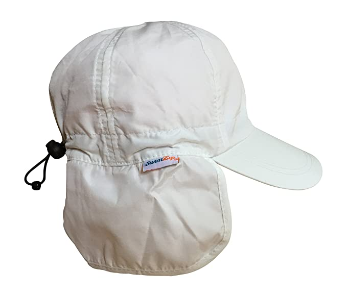 77b94c65 Image Unavailable. Image not available for. Colour: SwimZip Shady Days Flap  Sun Hat UPF 50+