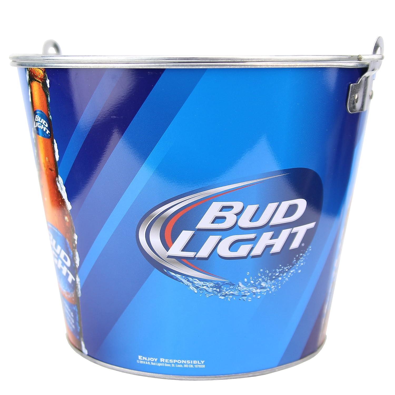Amazon.com: Beer Brand Full Color Aluminum Beer Bucket (Bud Light